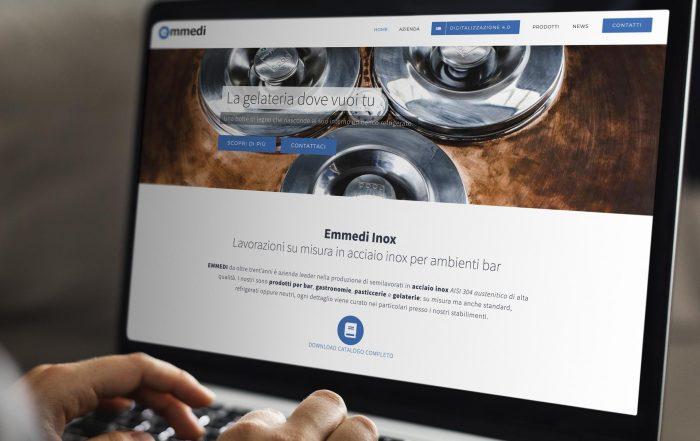E' on line il nuovo sito Emmedi Inox