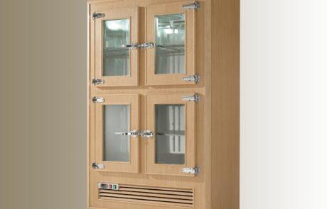 frigo professionale legno