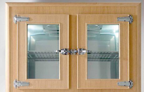 frigo professionale legno particolare