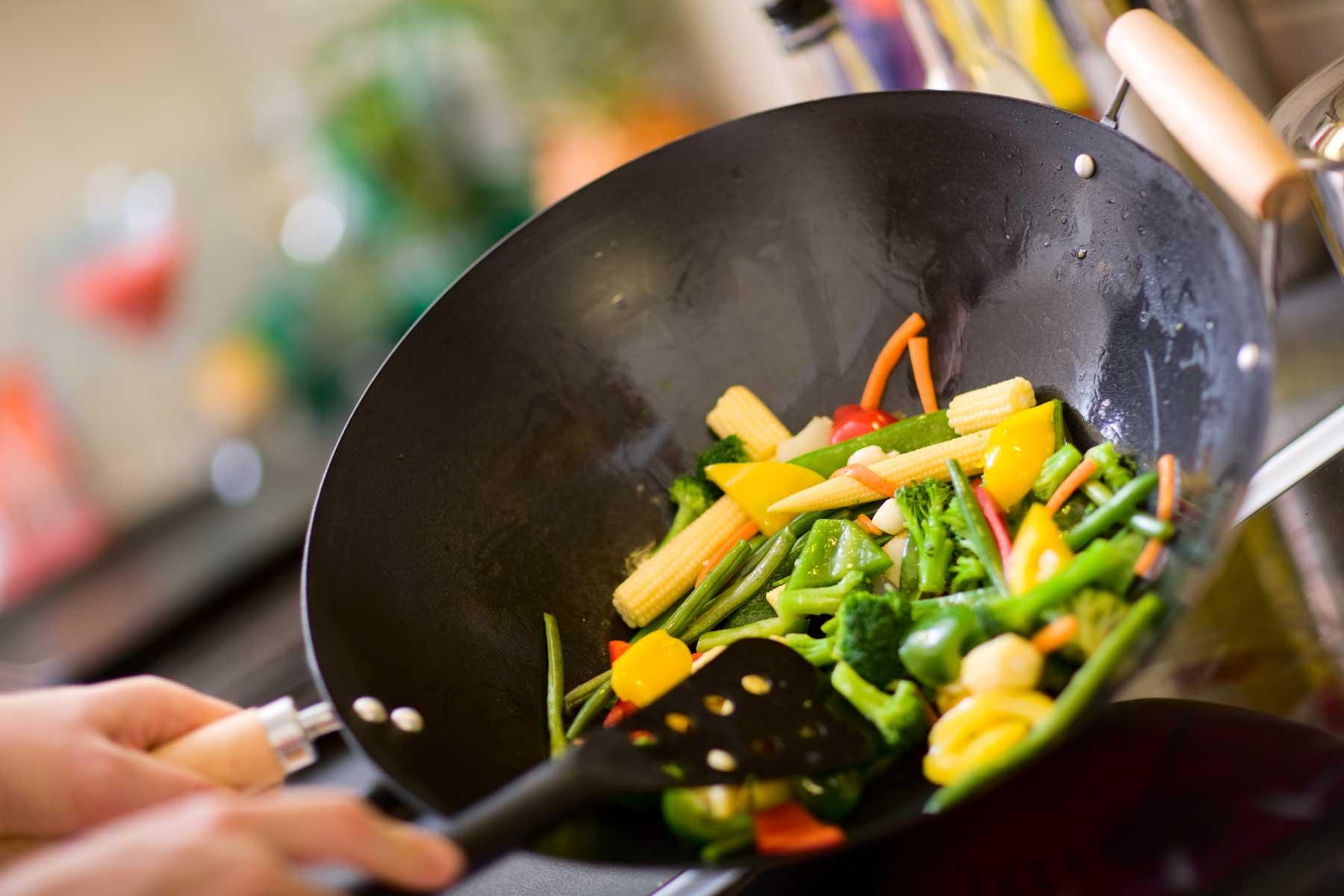 Wok - banco emmedi per cotture con wok